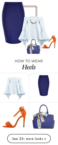 """Let's ruffle together!"" by lollahs on Polyvore featuring City Chic"