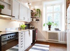 北欧マンションのキッチン