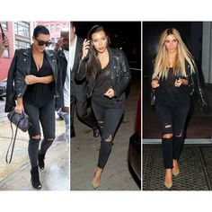 Definitive Proof That Kim Kardashian Only Wears 15 Outfits Ever ❤ liked on Polyvore