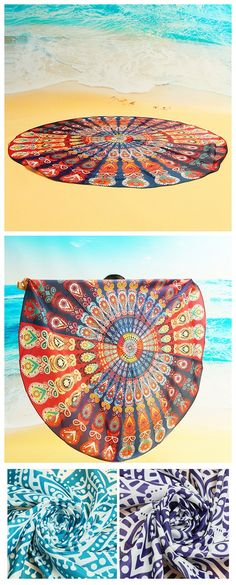 12 patterns round beach towels to choose from see more at newchiccom - Cheap Beach Towels
