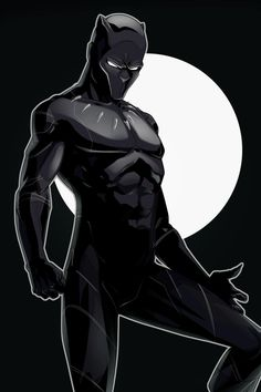 Comic Book Superheroes, Comic Books Art, Comic Art, Book Art, Black Panther Art, Black Panther Marvel, Marvel Fan Art, Marvel Heroes, Harley Quinn Comic
