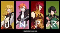 RWBY: Lyndon and Juliet by reveriesky on DeviantArt Rwby Genderbend, Rwby Anime, Rwby Fanart, Team Jnpr, Team Rwby, Rwby Rose, Pyrrha Nikos, Red Like Roses, Rwby Characters