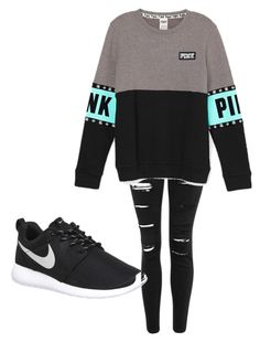 """""""Eh why not"""" by cheyenne-dodds on Polyvore featuring Topshop and NIKE"""
