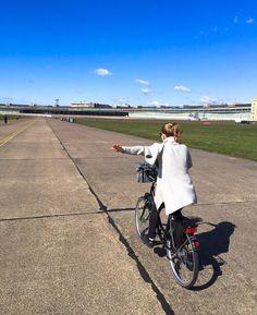 Tempelhof, antigo aeroporto de Berlim que hoje é um grande parque! #berlim #aeroporto