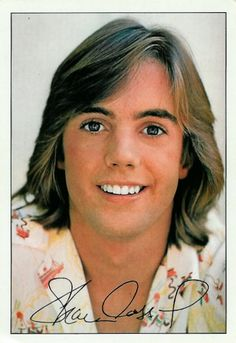 Actor, singer Shaun Cassidy, son of actor Jack Cassidy and actress, singer Shirley Jones