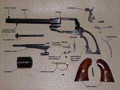 Remington New Model Army 1858 Revolver