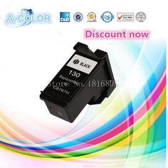 1PCS Ink Printer Cartridge for HP 130 C8767HE for HP130 DeskJet 6543 6840 PSC 1513 2355 Photosmart 8153 2613 OfficeJet K7103 #Affiliate