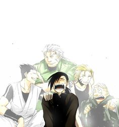Omg... i feel so sorry for Greed as how he lost all of his friends... Aw so sad....