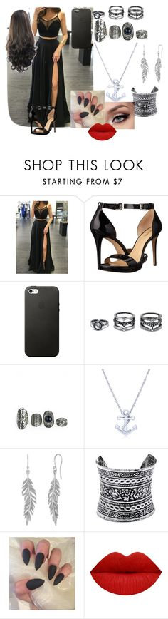 """""""black never look so sexy"""" by bettyboop2001 on Polyvore featuring MICHAEL Michael Kors, LULUS and BERRICLE"""