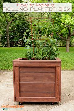 This DIY Planter Box