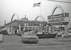 There was a McDonald's in Inglewood, just up the hill from home that looked just like this.. maybe this is it?