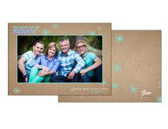 Fun & Bright Holiday Card www.figgestudio.com