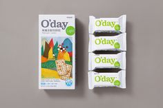 O'day by Victor Design. #branding #packaging