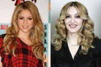 Madonna y Shakira talentosas e inteligentes