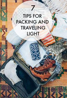 7 Tips For Packing and Traveling Light | eBay