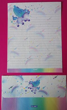 Vintage Flomo letter set / Hoja y sobre de Flomo | by misstaito