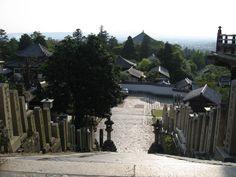 Kasuga-taisha (Kasuga Grand Shrine) Shinto shrine, Nara, Japan dating from 768 AD.