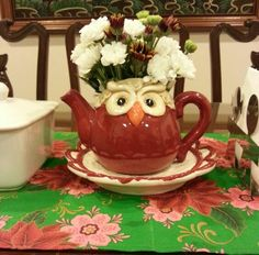 My Christmas teapot