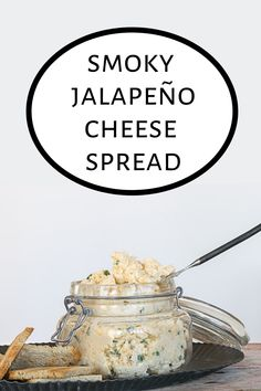 A little spicy and a little smoky, this Jalapeño Cheese Spread is an easy to make cheese appetizer and perfect when spread on crackers or little rye toasts. Easy To Make Appetizers, Easy Appetizer Recipes, Best Appetizers, Snack Recipes, Cheese Recipes, Cooking Recipes, Snacks, Smoked Gouda Cheese, Jalapeno Cheese