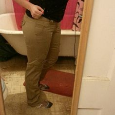 Skinny khaki pants with lots of pockets! These pants are stretchy and comfortable. Tons of cute details. Jolt Pants Skinny
