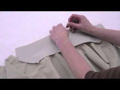 5 Colletto della giacca parte 2 - YouTube