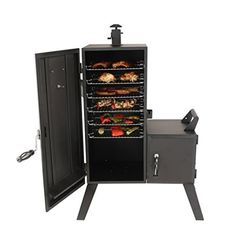 Dyna-Glo H x W in Charcoal Vertical Smoker at Lowe's. Charcoal enthusiasts, take heart! With this Dyna-Glo vertical offset smoker, you can now smoke your favorite foods with your favorite wood chips and your Gas Smoker, Propane Smokers, Wood Smokers, Masterbuilt Propane Smoker, Best Offset Smoker, Best Electric Smoker, Charcoal Smoker, Best Charcoal Grill, Bbq Grill