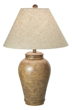 """PCL Desert Oasis 29.5"""" H Table Lamp with Empire Shade"""