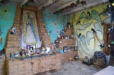 'DeGrazia's Mission in the Sun is open daily; free admission. #NationalHistoricDistrict #DeGrazia #Artist #Ettore #Ted #GalleryInTheSun #ArtGallery #Gallery #Adobe #Architecture #Tucson #Arizona #AZ #Catalinas #Desert #MissionInTheSun #Mission #Murals #Guadalupe #PadreKino #Frescoes'