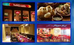 What's your favorite #food place at World Square Mall - WSM where you just go crazy for taste? a. Haldiram b. Pizza-Hut