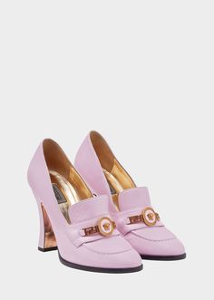 6dab336395a0b2 Versace Tribute Loafer Heels for Women
