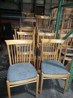 Used chairs /Contact us for quotes, pricing and product details. / by AIMCO Equipment Company. Used Chairs, Dining Chairs, Quotes, Furniture, Home Decor, Quotations, Decoration Home, Room Decor, Dining Chair