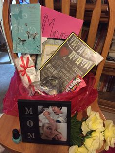 Mother's Day surprise basket from my lovely daughter Emma
