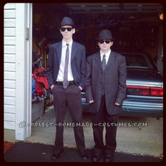Jake and Elwood Blues Brothers Costumes... This website is the Pinterest of costumes