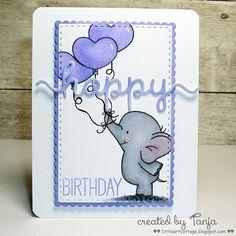 Little Art Cottage: Happy Birthday Elephant