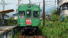 僕の故郷の話をしょう、どこかで聞いた様な歌詞と思いますが、僕の故郷熊本の絵の話をしょうに変えて、熊本は路面電車にローカル鉄道車両が多い町です、この絵は北熊本と上熊本を走るローカルの通る町の風景をお絵描きしました。  Julee Cruise - The world spins http://youtu.be/MvCp0XtXYXw
