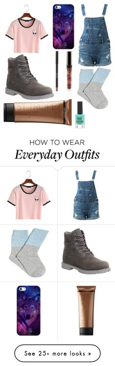 """""""Outfit of the day 12/6/16"""" by the-dizzy-maoam on Polyvore featuring Timberland, Guild Prime, Casetify, St. Tropez and New Look"""
