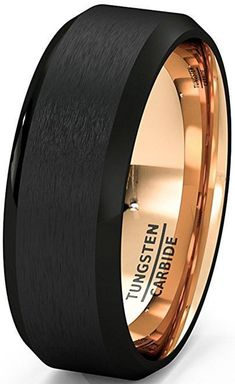 Sensible Titanium Ridged Edge 14k Yellow Inlay 8mm Brushed/ Wedding Ring Band Size 10.50 Carefully Selected Materials Bridal & Wedding Party Jewelry Jewelry & Watches