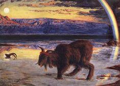 The Scapegoat - William Holman Hunt
