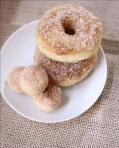 Homemade Baked Donuts - yum!