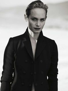Amber Valletta for Zeit Magazine by Peter Lindbergh