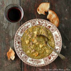 Split Pea Soup with Red Wine and Ham   Boulder Locavore