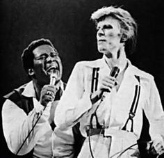 David Bowie and Luther Vandross