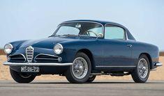 Alfa Romeo 1900 Super Sprint coupé by Touring Superleggera, 1957