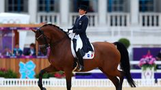 Jessica Michel of France riding Riwera competes in the Individual Dressage Grand Prix Special on Day 11 of the London 2012 Olympic Games at Greenwich Park