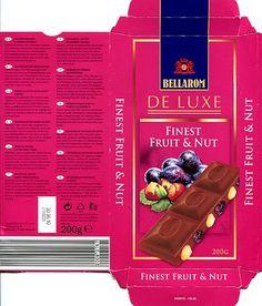 Bellarom - Deluxe Finest Fruit & Nut Chocolate