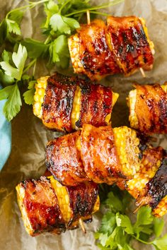 Grilled Chicken Recipes, Grilled Vegetables, Veggie Recipes, Healthy Recipes, Healthy Food, Corn Recipes, Water Recipes, Grilled Meat, Vegan Food