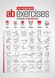 Exercícios - Abdominais - Casa