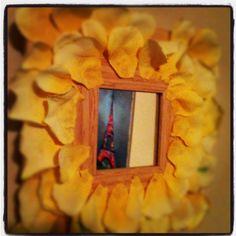 Flower mirror craft!