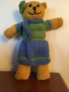 Best 12 Mother bear project almost done – SkillOfKing. Knitted Bunnies, Knitted Teddy Bear, Knitted Dolls, Easter Crafts For Toddlers, Baby Crafts, Toddler Crafts, Baby Patterns, Doll Patterns, Mother Bears