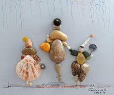 """""""Piccolo Carnevale"""" pebble art by Hara"""